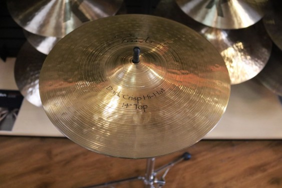 "Used Paiste 14"" Dark Crisp Hi Hats"