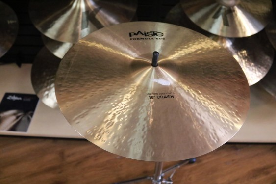 "Used Paiste 602 Modern Essentials 16"" Crash Cymbal"