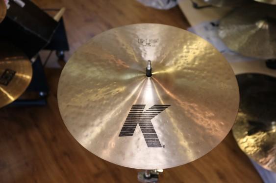 "Used Zildjian 15"" K Light Hi Hats"