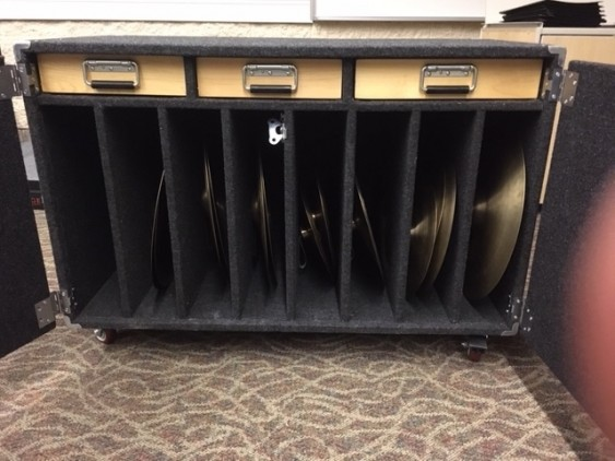 Columbus Percussion Concert Percussion/Cymbal Cabinet (CPP-CYM-CABINET)
