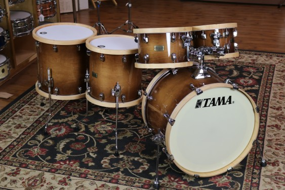 TAMA SLP Studio Maple 5-piece shell pack Gloss Sienna LMP52RTLSGSE