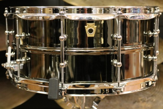 Ludwig 6.5X14 Black Beauty Snare Drum with Tube Lugs LB417T
