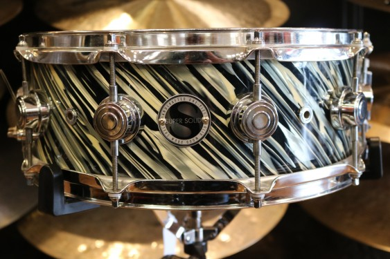 Used DW Super Solid 5.5x14 Snare Drum