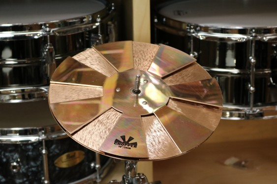 "Sabian 10"" Chopper - Demo of exact cymbal - 1277g"