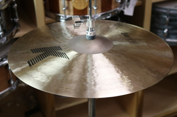 "Zildjian 16"" K Zildjian Sweet HiHats Pair Demo of Exact Cymbal - 1385 grams Top, 1909 grams Bottom"