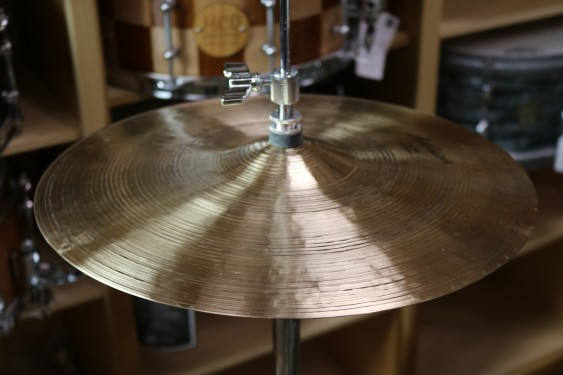 "Sabian 14"" Artisan Elite Hats - Demo of Exact Cymbal - 774 grams top, 1189 grams bottom"