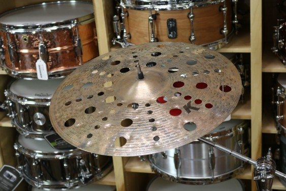 "Zildjian 17"" K Custom Special Dry Trash Crash Cymbal-Demo of exact Cymbal-963 grams"