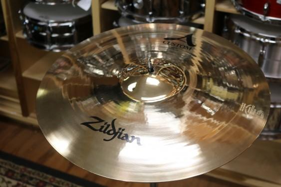 "Zildjian 20"" A Custom Ride Brilliant-Demo of Exact Cymbal-2058 grams"