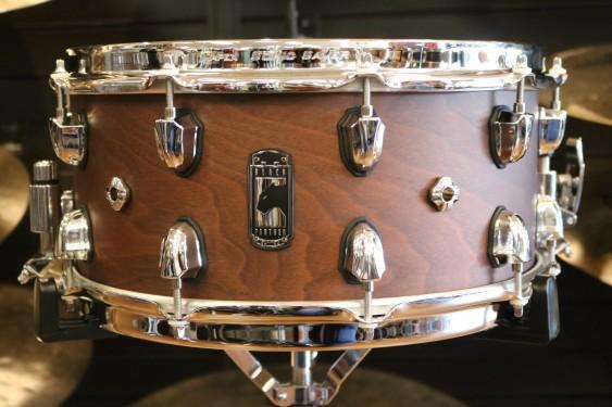 Mapex 30th Anniversary Modern Classic Limited Edition Walnut Snare Drum SEBPWN465CWH