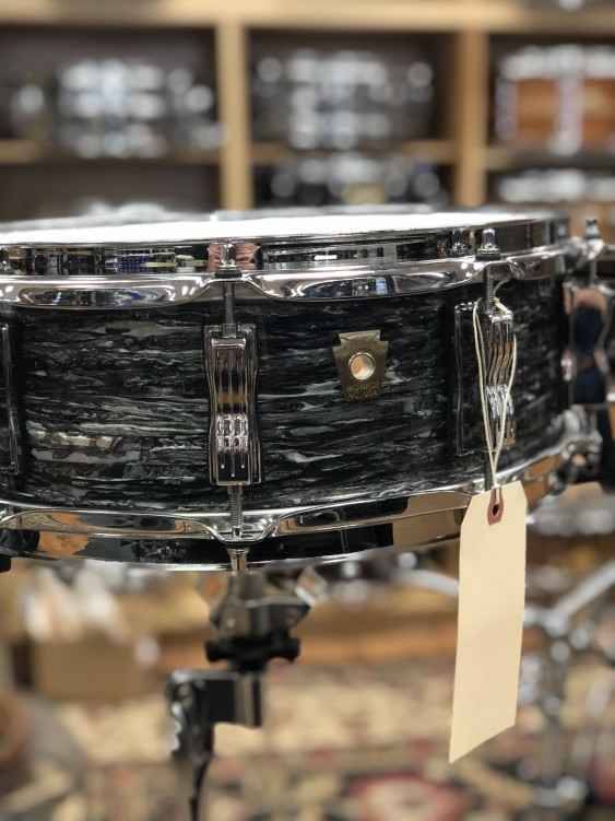 Used Ludwig 2016 Classic Maple 5x14 in Vintage Black Oyster