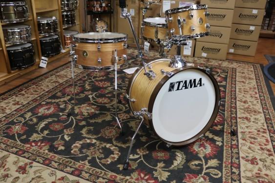 TAMA Club JAM 4-piece shell pack Satin Blonde 12x18 BD, 7x10 TT, 7x14 FT, 5x13 SD LJL48SSBO