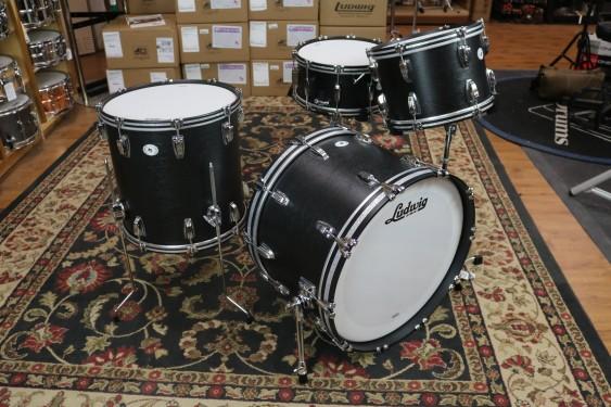 "Ludwig Limited Edition Legacy Mahogany ""Black Cat"" Shell pack, 9x13, 16x16, 14x22 LLC54233LXGN"