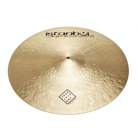 """Istanbul Agop 20"""" Traditional Jazz Ride Cymbal"""