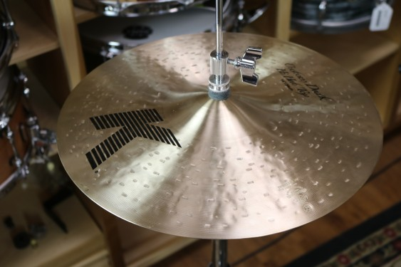"Zildjian 14"" K Custom Dark Hi Hat Pair - Demo of Exact Cymbal - Top - 1062g - Bottom - 1183g"
