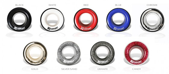KickPort - Bass Drum Acoustics Maximizer - Chrome