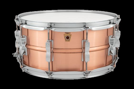 Ludwig 6.5x14 Acro Copper Snare Drum