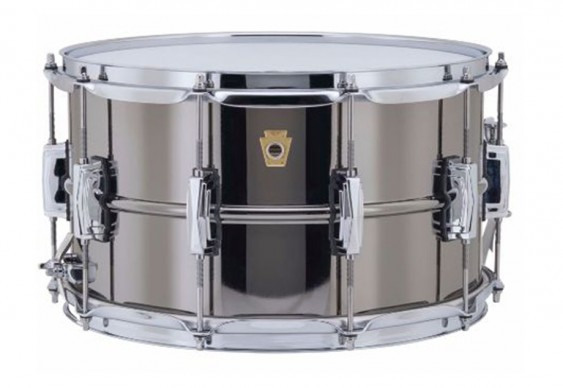 """Ludwig 8X14"""" Black Beauty Snare Drum"""