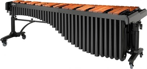 Majestic Concert Black Series 5.0 octave padauk marimba.