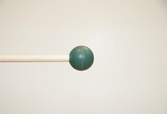 Mike Balter Gradioso Series Round Dark Green Rubber Medium Hard Birch Mallets