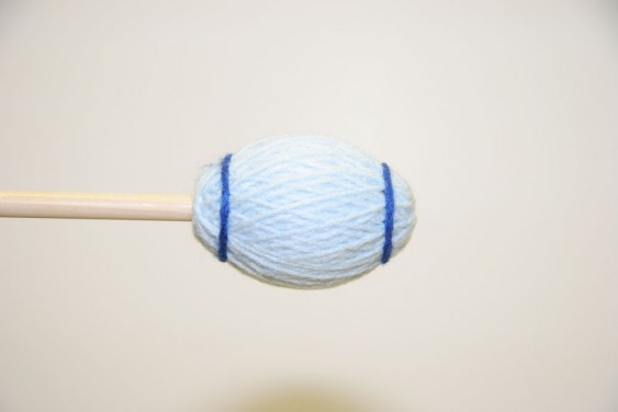 Mike Balter Ensemble Series Light Blue Yarn Extra Soft Birch Mallets