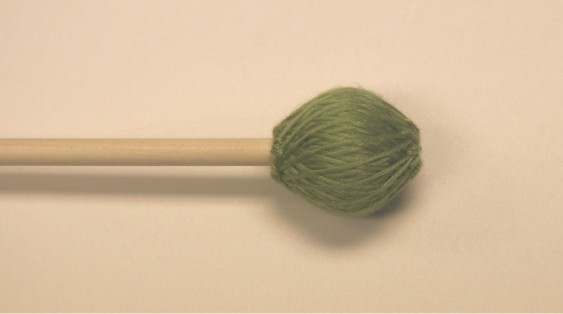 Mike Balter Chorale Series Green Microfiber Medium Hard Birch Mallets