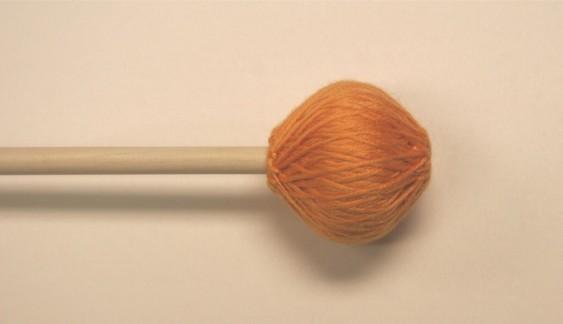 Mike Balter Chorale Series Orange Microfiber Extra Soft Birch Mallets