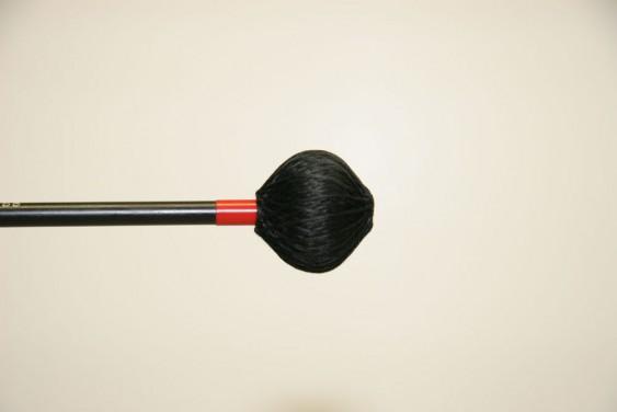 Mike Balter Shadow Series Black Cord Soft Black Birch Mallets