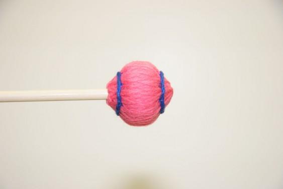Mike Balter Wide Bar Series Pink Yarn Medium Birch Mallets