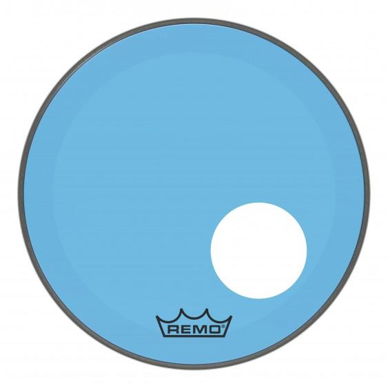 "Remo 18"" Powerstroke P3 Colortone Blue Bass Drumhead"