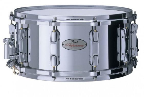 pearl reference 14 x6 5 cast steel snare drum. Black Bedroom Furniture Sets. Home Design Ideas