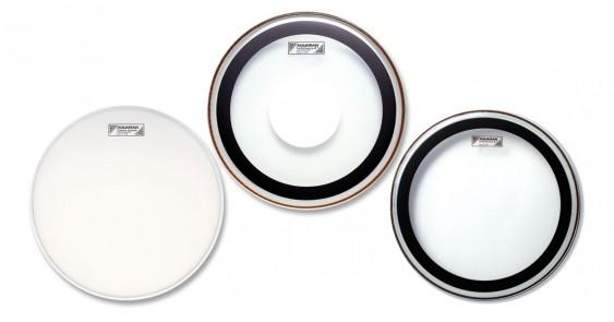 Aquarian 18'' Performance II Clear w/Power Dot Drumhead