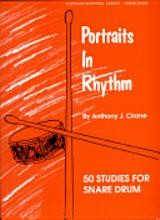 Portraits in Rhythm: 50 Studies for Snare Drum [Book] by Anthony J. Cirone