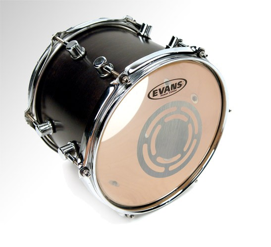 "Evans 6"" Clear Power Center Drumhead"