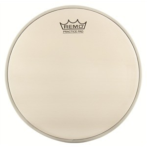 Remo Batter, Ambassador®, Coated, 8'' Diameter, For Practice Pad®