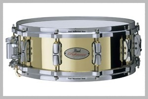 "Pearl Reference 14""x6.5"" 3mm Cast Brass Snare Drum"