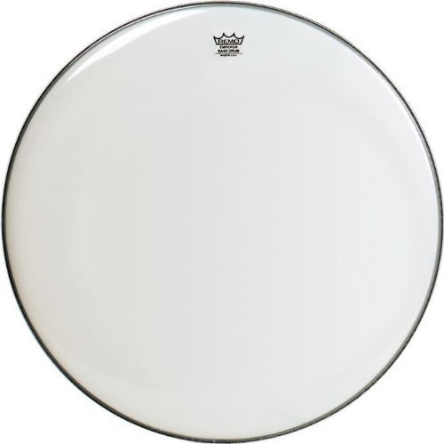 "Remo 28"" Smooth White Emperor Bass Drumhead"