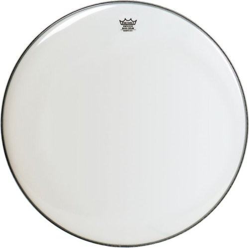 "Remo 30"" Smooth White Emperor Bass Drumhead"
