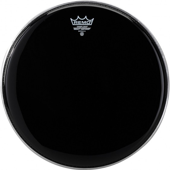 "Remo 10"" Ebony Pinstripe Batter Crimplock Drumhead"