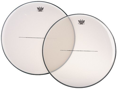 "Remo 23"" Renaissance Clear Timpani Drumhead w/ Steel Insert"