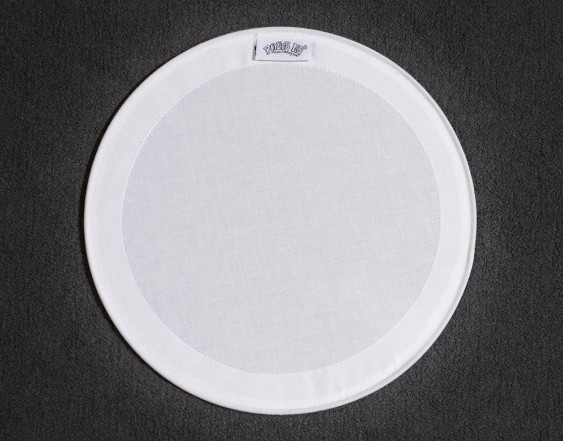 "RootsEQ Solid white 15"" Tom Muffle"