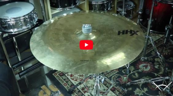 "Sabian 20"" HHX Zen China Brilliant-Demo of Exact Cymbal-1445g"