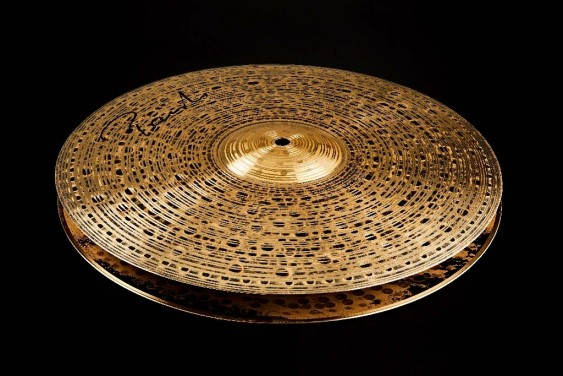 "Paiste 15"" Signature Dark Energy Hi-Hat Cymbals"