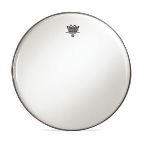 """Remo 18"""" Smooth White Ambassador Bass Drumhead w/ Center Hole"""
