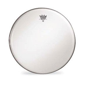 "Remo 18"" Smooth White Diplomat Batter Drumhead"