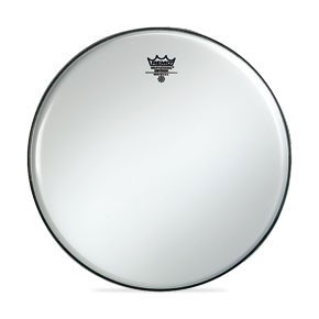 "Remo 24"" Smooth White Emperor Bass Drumhead"