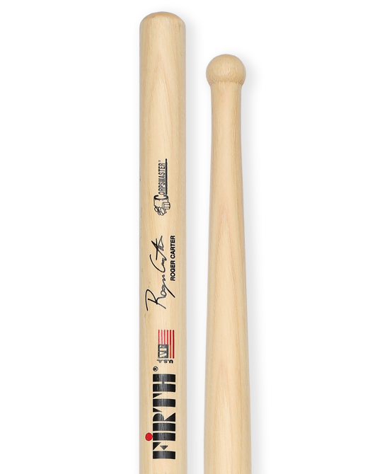 Vic Firth Corpsmaster Roger Carter Signature Snare Drumsticks