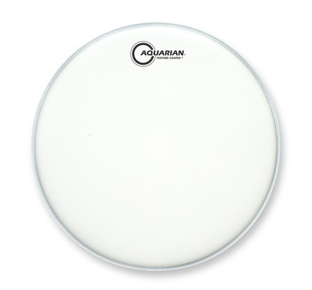 Aquarian 10'' Texture Coated Satin Finish Drumhead