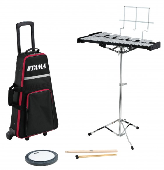 TBK100C - TAMA BELL KIT WITH STAND AND ROLLING BAG