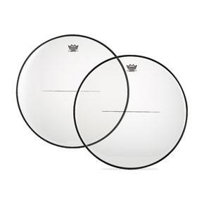 """Remo 25 8/16"""" Custom Clear Timpani Drumhead w/ Low-Profile Steel"""