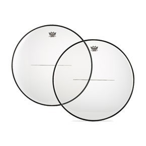 "Remo 24 4/16"" Renaissance Clear Timpani Drumhead w/ Low-Profile Steel"